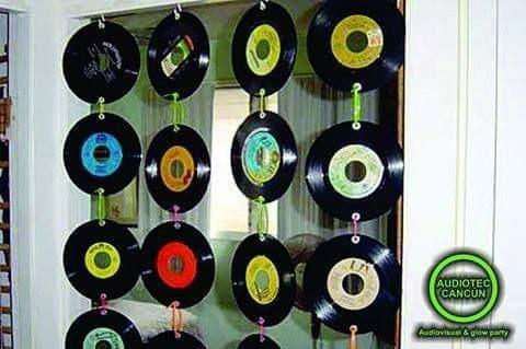 lote de 500 disco acetato ya sea para decoracion/reproducir