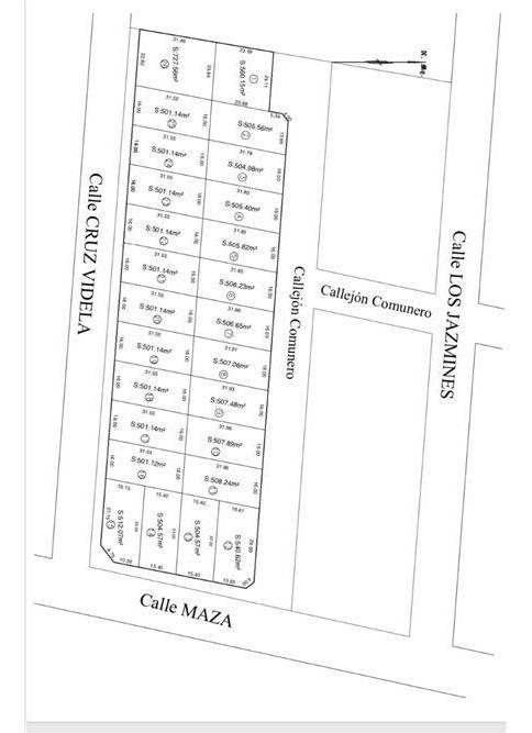 lote de 500 m2 complejo privado