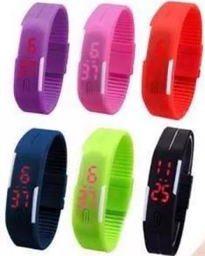 ae99a793a502 Lote De 55 Reloj Led Touch Mujer Hombre Digital Envío Gratis ...