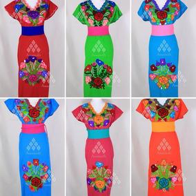 Vestido Para Noche Mexicana Vestidos Largos Mujer Vestidos