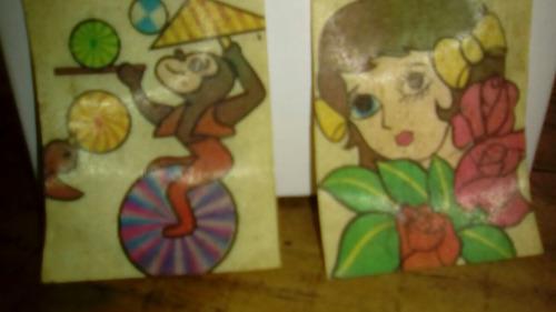lote de 7 micas de figuras movibles de los años 80