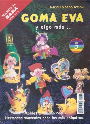lote de 7 revistas muñecos country goma eva porcelana fria