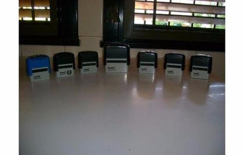 lote de 7 sellos trodat modelos printy 4913 y 4911