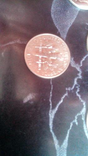 lote de 8 monedas one dime 1995-2007 frankiln roosevelt
