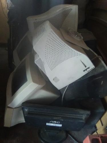 lote de 8 monitores operarivos