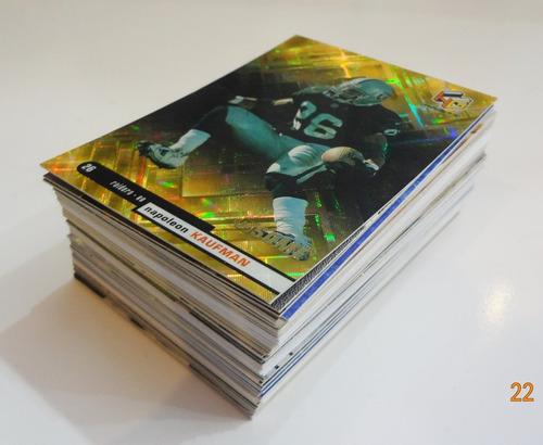 lote de 80 tarjetas de los raiders de oakland nfl cards