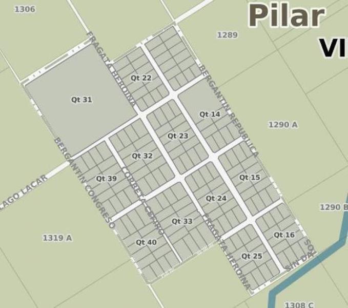 lote de 8,70 has. en pilar, entre las rutas provinciales 28 y 25 con muy fácil acceso