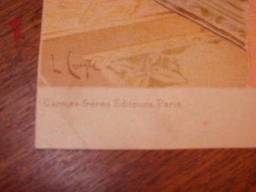 lote de 9 láminas de ed. garnier sobre juana de arco. 1900