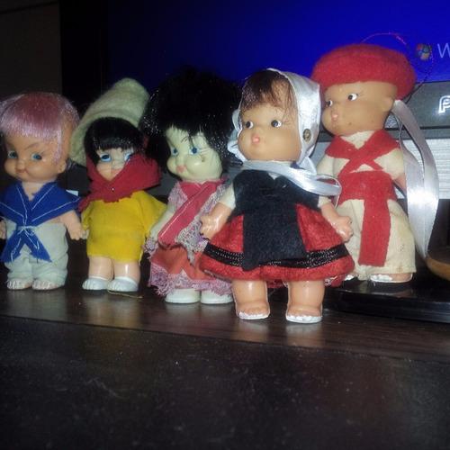 lote de 9 muñecas articulo de coleccion precio x todo