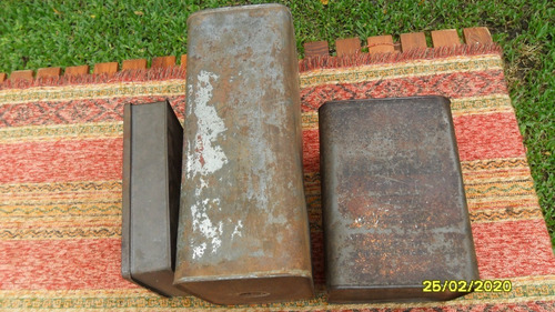 lote de antiguas latas aceite gallo galletitas canale visita