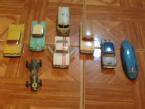 lote de autos corgi toys originales y en muy buen estado