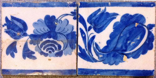 lote de azulejos antigos