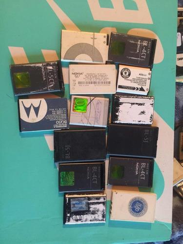 lote de baterías celulares nokia,lg,samsung,blackberry