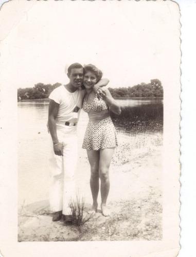 lote de bellas fotos ¡antiguas y autenticas! de los 40s  maa