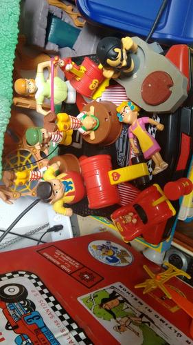 lote de brinquedos chaves e chapolin