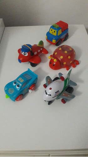 lote de brinquedos semi novos