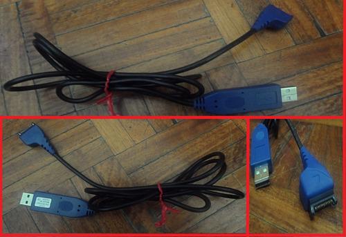 lote de cables usados