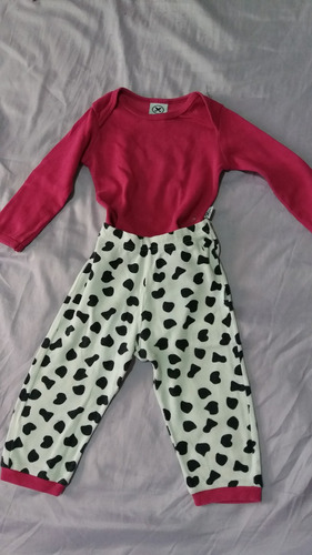 lote de calças infantil - menina