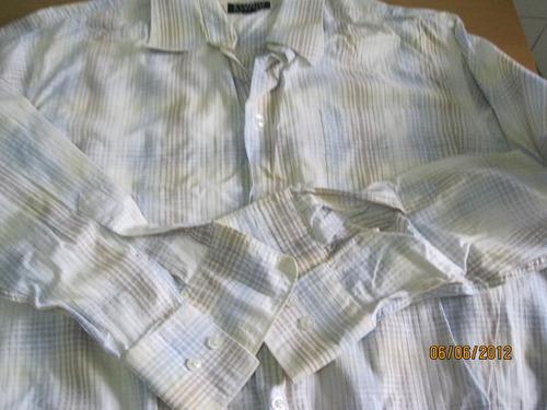 lote de camisas para hombre talle l, impecables!!