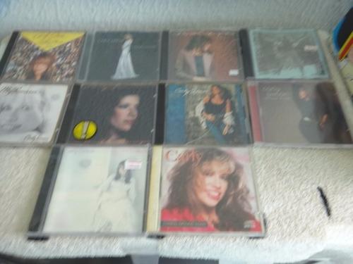 lote de cds - carly simon 10 cds