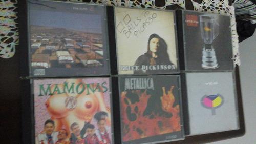 lote de cd's de rock - 6 cd's -