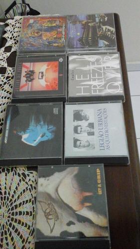 lote de cd's de rock - 7 cd's