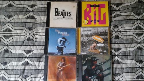 lote de cd's de rock nacional -  10 cd's -