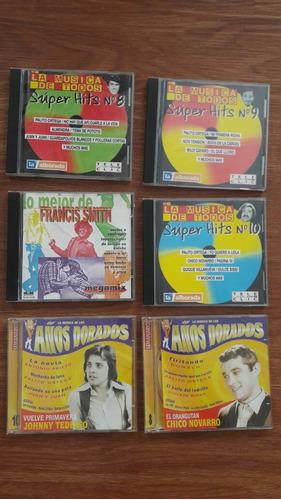 lote de cds éxitos de los años 60