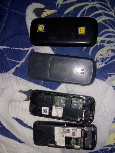 lote de celulares alcatel y nokia para piezas