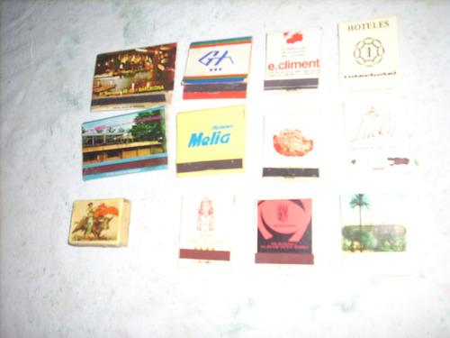 lote de cerillos argentinos coleccionables - 38 cajas