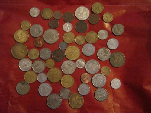 lote de cincuenta monedas diferentes (4)