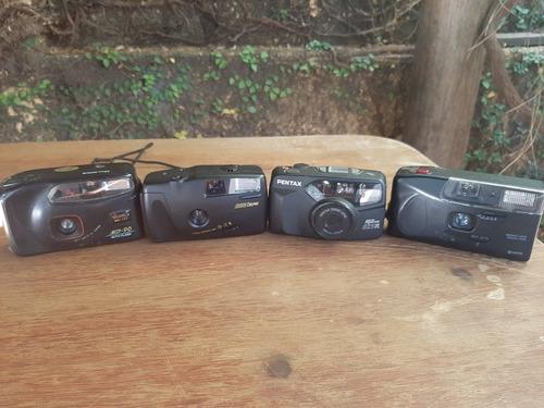 lote de câmeras antigas