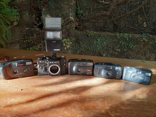 lote de câmeras antigas coleção