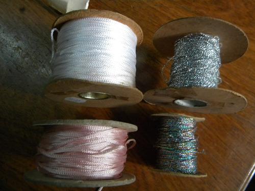 lote de colitas de rata 2 brillantes 1 blanca y 1 rosa $149