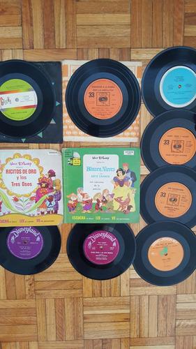 lote de discos vinilo infantiles