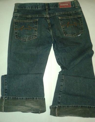 lote de dos jeans de dama talle s