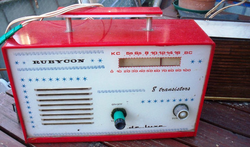 lote de dos radios antiguas