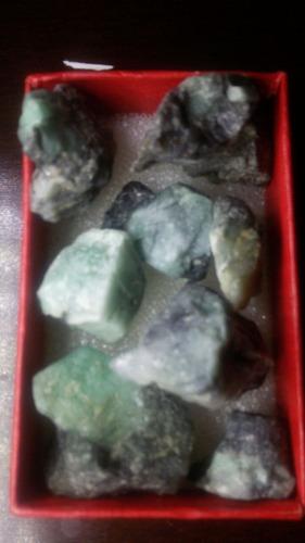 lote de esmeraldas brutas de santa quiteria priduto raro