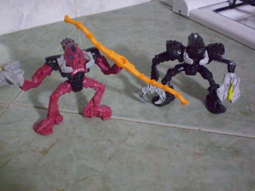 lote de figuras lego bionicle