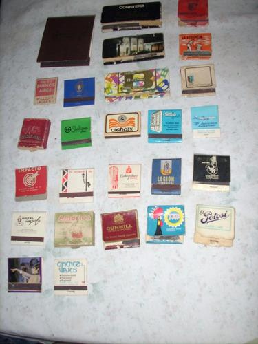 lote de fósforos argentinos - 38 cajas