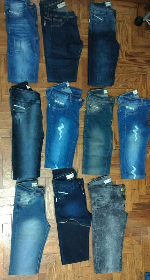 lote de jeans cenitho mujer elastizados talle 36. Cargando zoom. b8c580cde9b8