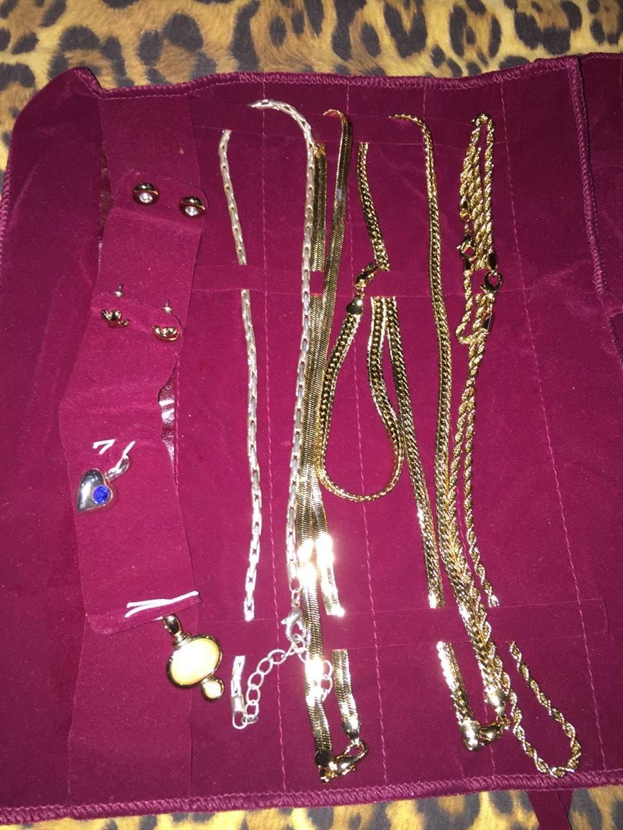 Lote de joyer a de fantas a fina con ba o de oro 890 for Banos electroliticos para joyeria