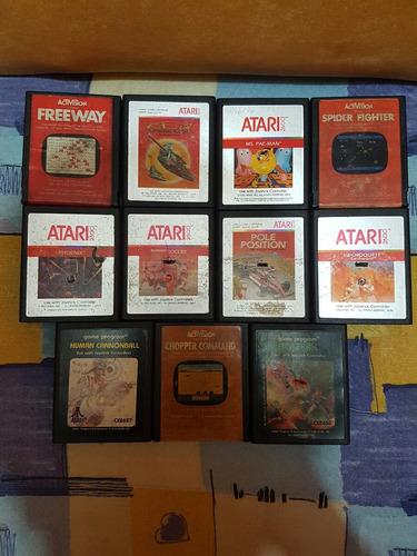 lote de juegos atari swordquest de colección