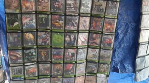 lote de juegos de xbox primera generacion