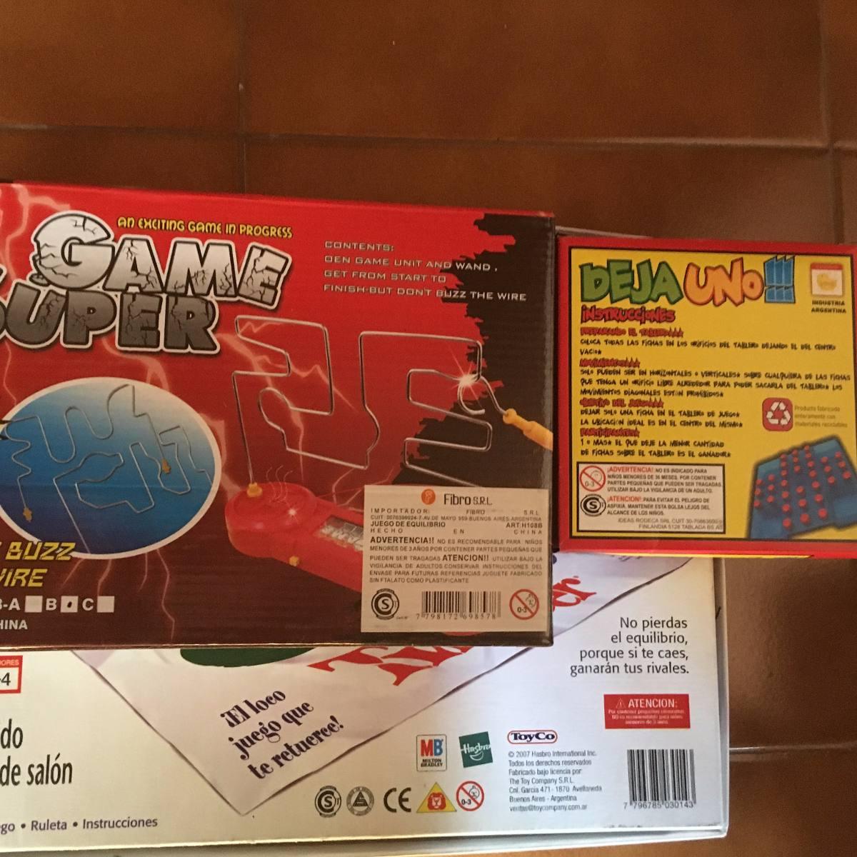 Lote De Juegos Mesa Ninos Twister Game Super Deja Uno 599 00 En