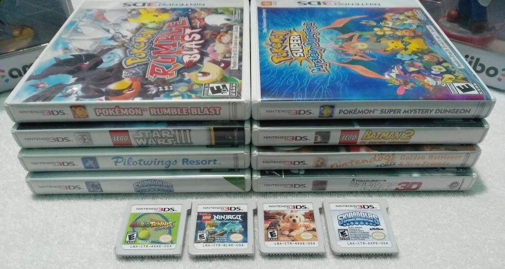 Lote De Juegos Para Nintendo 3ds 150 00 En Mercado Libre