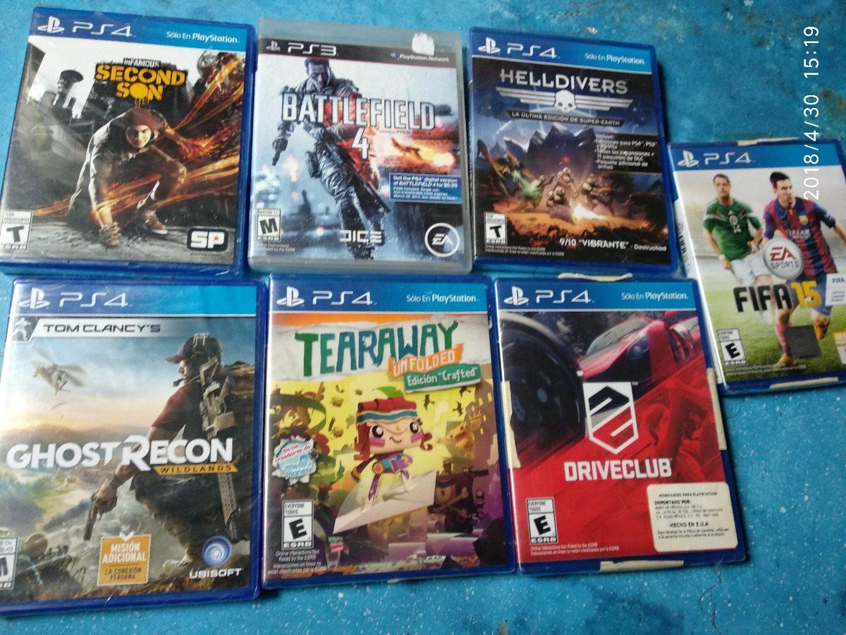 Lote De Juegos Playstation 4 Envio Ps4 Nuevos Tratable