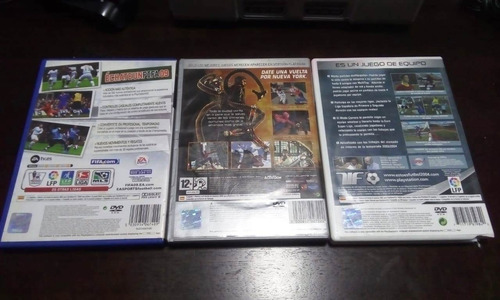 lote de juegos ps2 playstation 2(pal)