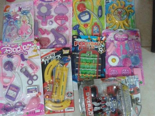 lote de juguetes 50 piezas niños niñas y bebes bolos