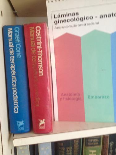 lote de libros de medicina , cirugia , ped liquidacion